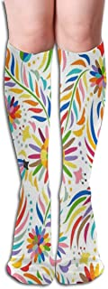 iuitt7rtree Calcetines Modern Floral Cool Womens Stocking Gift Calcetín para niñas calcetines6571