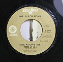 The Beach Boys 45 RPM She Knows Me Too Well / When I Grow Up (To Be A Man)