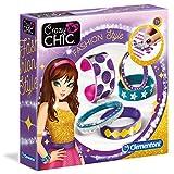 Clementoni - 15218-Bracelets - Fashion Style (Ax3)-Jeu créatif
