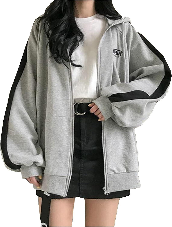Cardigan for Women Fashion Gothic Dark Hooded Coat Outerwear Long Sleeve Autumn Coats Jacket with Pocket