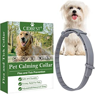 CIDBEST Pet Calming Collar, One Size Fits All - Waterproof, Protection and Adjustable - Essential Natural Herbal Oil