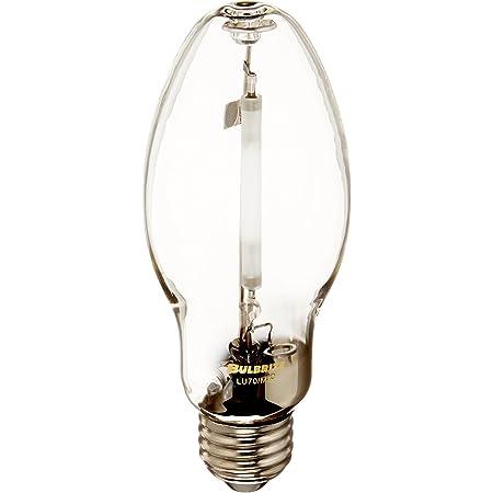 Bulbrite LU70/MED HID ED17 High Pressure Sodium Medium Screw (E26) Base Universal Burn Light Bulb 70 Watt Clear