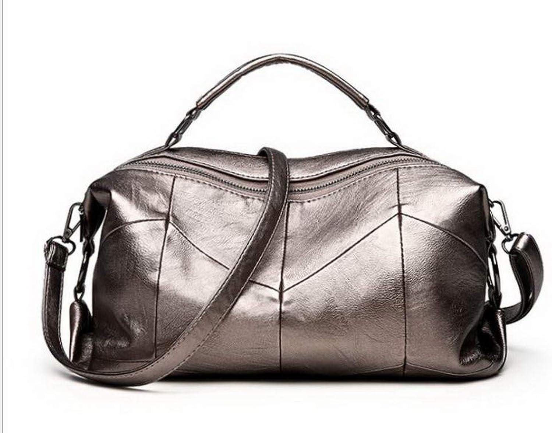 WeenFashion Women's Dacron Zippers Tourism Party Shoulder Bags, AMGBX181887