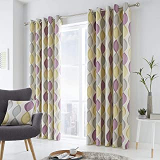 Fusion - Cojín Relleno de algodón, Morado, Curtains: 66
