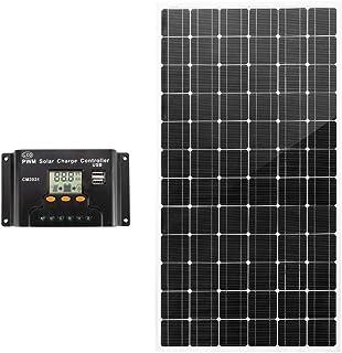 ATEM POWER K-VASPZHI-6H 250W 12V Mono Solar Panel Kit Caravan Camping Power Battery Charging Home