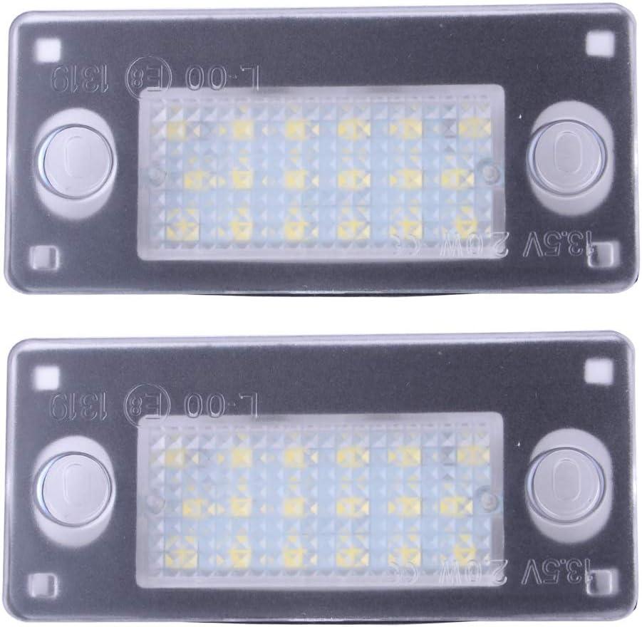 Rare LETAOSK 2pcs License NEW before selling ☆ Plate Light Lights Car Tag LED Lic