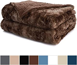 Best faux fur throw king size Reviews