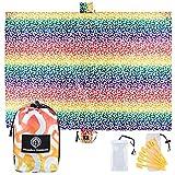 UrbanEco Outdoors Beach Blanket (Rainbow Dash)