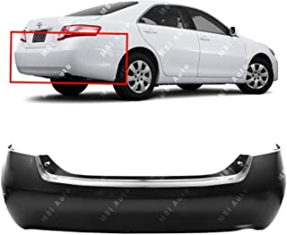 MBI AUTO - Primered, Rear Bumper Cover for 2007-2011 Toyota Camry Sedan 4-Door 07-11, TO1100243