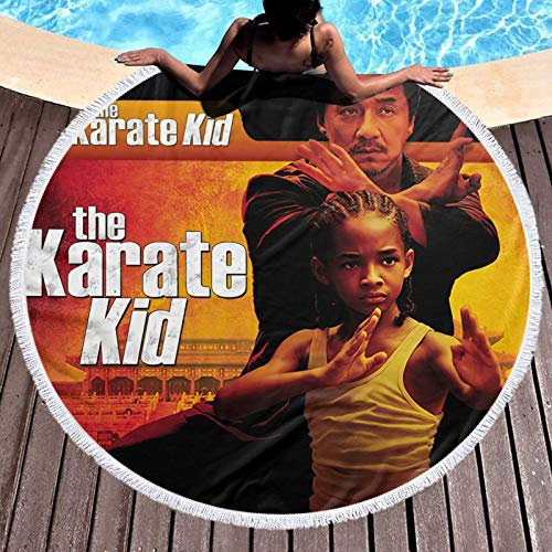 The Ka-rate - Toalla de microfibra para niños, de secado rápido, superabsorbente, ligera, grande, grande, para viajes, piscina, natación, toalla de baño