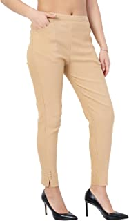 7e52d2490 Beige Women's Trousers: Buy Beige Women's Trousers online at best ...