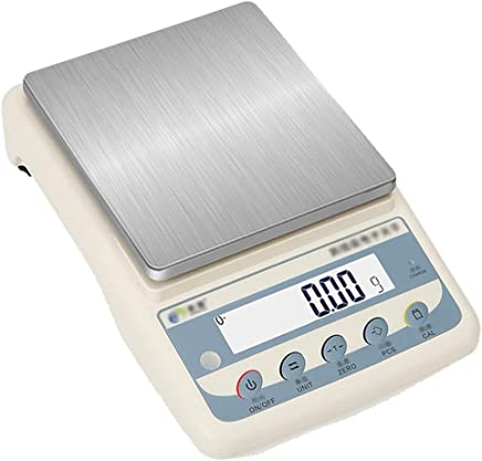 Kitchen Scales - Stainless Steel Scales, Large LCD Screens, Sophisticated Perception, Multi-Function Digital Display Smart Food Baking Scales - 6 ranges Available (Color : 1kg)