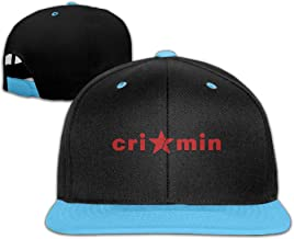 Big and Little Boys' Cap Vintage Crimin Adjustable Cool Snapback