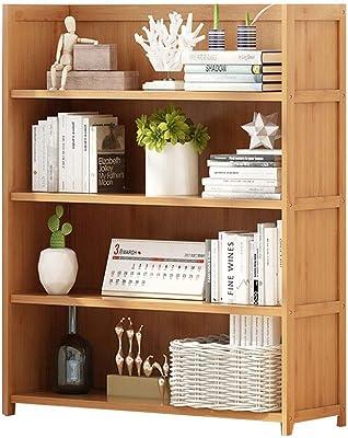 Amazon.com: Estantería de bambú organizador de escritorio 2 ...