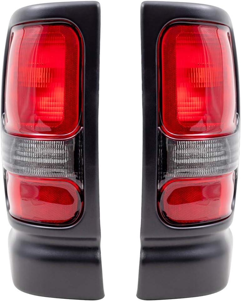 世界の人気ブランド Brock Replacement Tail Lights Compatible 1994-2001 with Pic 買取 1500