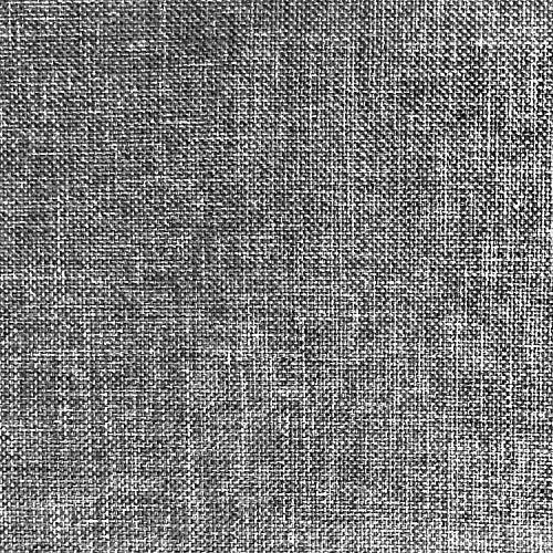 NOVELY® Oxford 330D | 1 lfm | Leinen Look Polyester PU wasserabweisend Mélange Polsterstoff (97 Kies Grau)