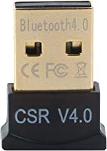 GENERIC Ultra-Mini Bluetooth CSR 4.0 USB Dongle Adapter for Windows Computer ( Black:Golden)