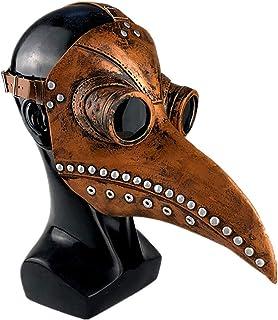 comprar comparacion Gutyan Máscara De Médico De La Peste, Máscara De Miedo De Halloween Máscara De Plagas Doctor Doctor Máscara De Cabeza Fies...