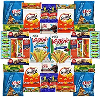 Healthy and Delicious Care Package Box of 40 Items
