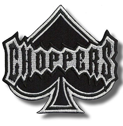 Pala Choppers - Parche para planchar/coser, 10 x 10 cm