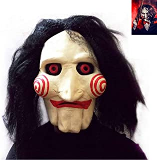 Junyulim Halloween Costume Latex Horror Clown Mask Super Lifelike Horror Horrifying Very Realistic Look, Meets Your Scare Criteria