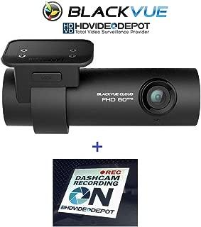 HDVD BlackVue DR750S-1CH 128GB, Car Black Box/Car DVR Recorder, Built-in Wi-Fi, Cloud, 1080p Full HD, 60FPS, G Sensor, GPS, 128GB SD Card Warning Sign