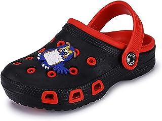 Zuecos Mulas para niños pequeños niñas Sandalias Zapatillas de Playa Zuecos de jardín Zapatos de Piscina Chanclas de Veran...