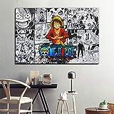 N / A Anime Poster und Drucke Wandkunst Bilder Kinder