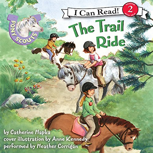 Pony Scouts: The Trail Ride audiobook cover art