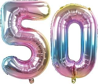 Amazon It 50 Anni Di Compleanno Palloncini Decorazioni