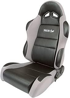 ProCar by Scat 80-1605-62L Sportsman Gray Vinyl/Velour Left Racing Seat