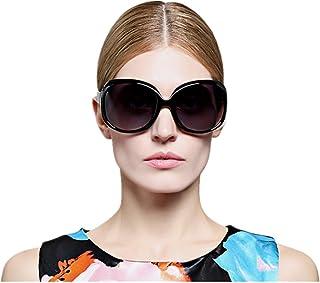 VIVIENFANG サングラス 偏光レンズ オーバーサイズ UVカット プラスチック レディ―ス JP1981