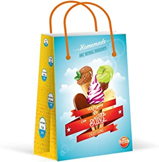 Premium Ice Cream Party Bags, Party Favor Bags, New, Treat Bags, Gift Bags, Goody Bags, Party Favors, Party Supplies, Decorations, 12 Pack