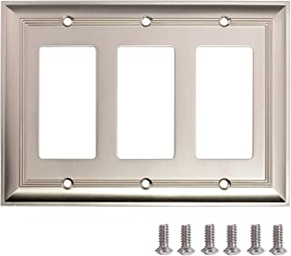 Best stainless steel switch plates Reviews