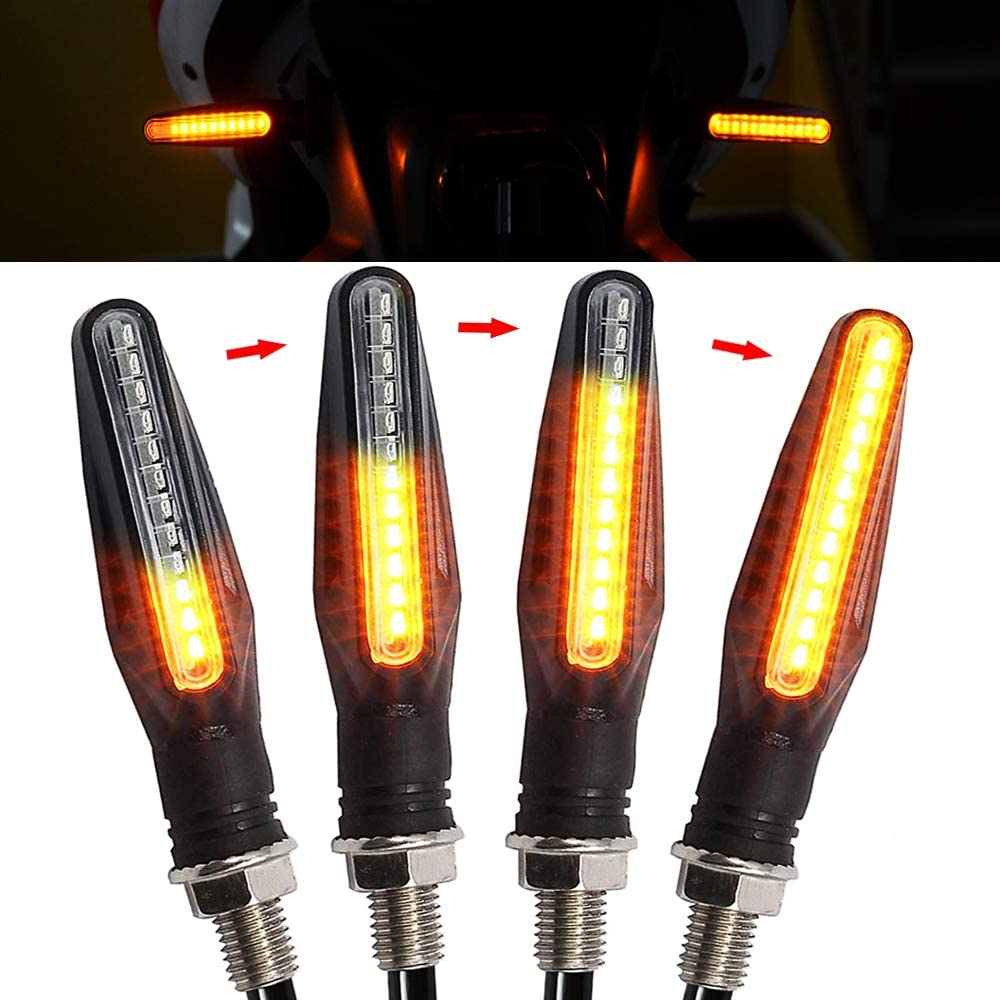 Motorcycle Indicators Flowing Turn online shopping Signal Universal Special price 335S Lights