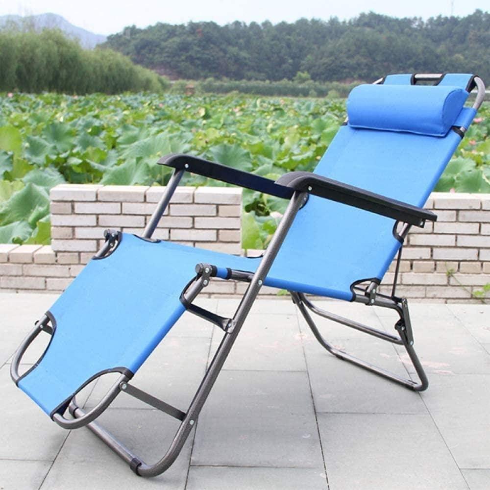 Genneric Chaise rembourrée Salon, Bureau réglable Pause déjeuner Accueil pliable simple Siège inclinable genneric (Color : P) A