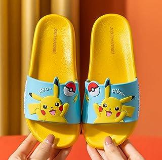JIAHENGY Pikachu Girls Boys Summer Slippers Niños Niños Baño Slipper Hombres para Mujer Solas Sandalias Antideslizantes Pi...