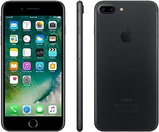 Apple iPhone 7 Plus, 32GB, Black - Fully unlocked- Desbloqueado(Renewed)