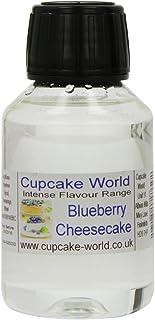 Cupcake World Aromas Alimentarios Intenso Tarta de Queso con Arándanos - 100 ml