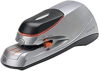 REXEL(R) 2102350 Optima Stapler Elec Optima20 20Sht Org/SLV