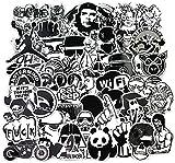 Paquete de Pegatinas 120-Pcs, Sanmatic Vinilos Adhesivos para vinilos para Laptop, Niños, Coches, Motocicleta, Bicicleta,Skateboard, Pegatinas de Parachoques Pegatinas Hippie Bomba Impermeable …