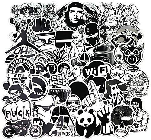 Sanmatic Aufkleber Pack [120pcs], Vinyl Laptop Aufkleber für Auto Motorrad Fahrrad Gepäck Graffiti Patches Skateboard Wandtattoos