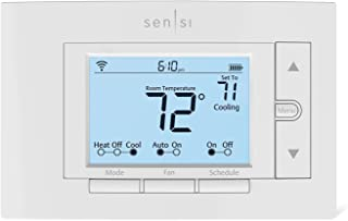 Emerson Sensi Wi-Fi Smart Thermostat for Smart Home, Pro Version, Works with Alexa, Energy Star Certified