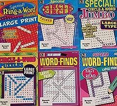 Kappa Puzzles Large Print Bargain Pack Set of 6 Books