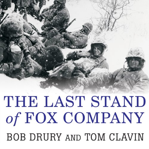 The Last Stand of Fox Company audiobook cover art