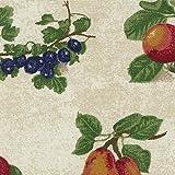 Longaberger Kiddie Purse Fruit Medley Fabric Over Edge Basket Liner