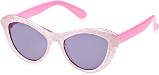 TFL 72230-GlitterBabyP Cateye Girl's Sunglasses, Glitter & Baby Pink