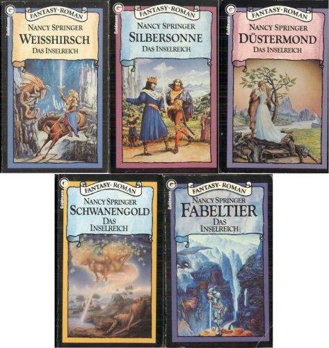 Das Inselreich in 5 Bänden (Weißhirsch - Silbersonne - Düstermond - Fabeltier - Schwanengold)