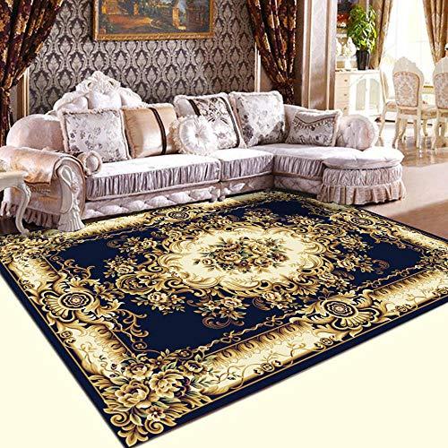 Alberta Room rugs Modern Carpet for Living Room Home Rug Anti-slip Bedroom Carpets Bedside Rugs Office Chair Floor Mats-European_15_60x90cm Home Decor mats (Color : European 9, Size : 120x160cm)