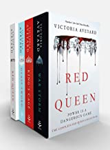 Red Queen Series 4 Books Collection Box Set by Victoria Aveyard (Red Queen, Glass Sword, Kings Cage & War Storm)